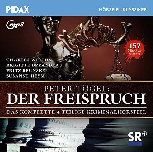 Pidax Hörspiel-Klassiker - Der Freispruch (Peter Tügel) SR 1965 / pidax 2016