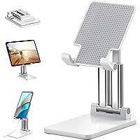 Plixio® Desktop Mobile Phone Stand, Mobile Holder , Adjustable & Foldable Mobile Stand,Aluminium Stand Holder for Mobile…