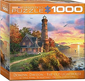 Eurographics 8000-0965 The Old Lighthouse - Puzzle (1000 Piezas)