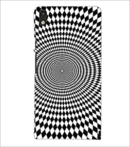HUAWEI ACEND P6 ILLUSION Designer Back Cover Case By PRINTSWAG