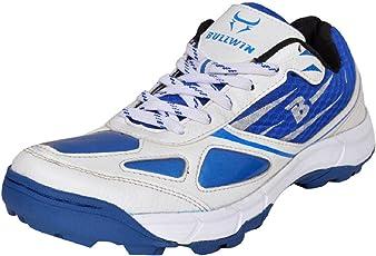 Bullwin Men's Kroma White Cricket Shoes