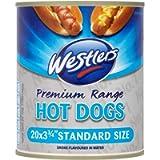 Westlers Premium Range 20 Hot Dogs Standard Size