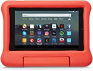 Kid-Proof Case for Fire 7 Tablet   Compatible with 9th-Generation Tablet (2019 release), Red
