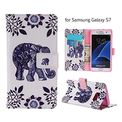 Aeeque iPhone 5/5S/5C/SE/6 plus/6S,, Samsung Galaxy S3/S4/S5/S6/S6/S6 Edge Edge J5/plus/nota 5/S7/S7/Edge G360/G530/i9060, Sony Xperia M4/Z5 mini/Z5, P8 Huawei Lite pittura, disegno elegante Custodia Elephant Flower