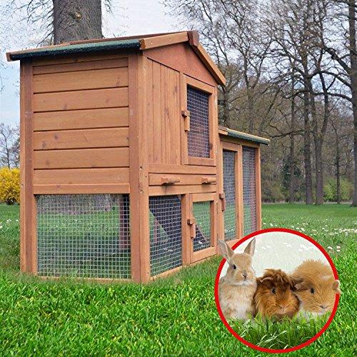 Stall Nr 1 Kaninchenstall Hasenstall Kaninchenkäfig Hasenkäfig Meerschweinchenstall - 5