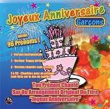 CD Joyeux Anniversaire 96 Prénoms Garçons