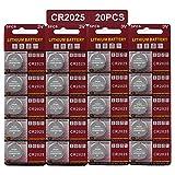 20 Stück CR2025 3V Lithium Knopfzelle Elektro CR 2025 Lithium