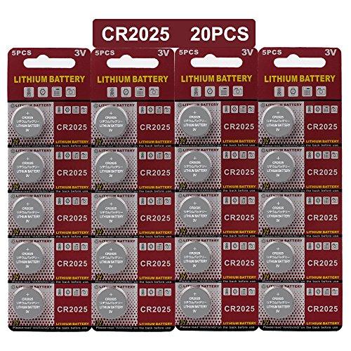 Lithium Knopfzelle Elektro CR 2025 Lithium ()
