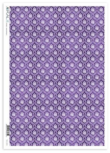 Accademia del Decoupage Seidenpapier, 32 x 45 CM-Textur aus Seidenpapier (Mulberry Seidenpapier)