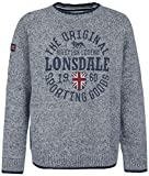 Lonsdale London Borden Sweat-Shirt grau XL