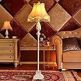 JU Stehlampe Europäische Stehlampe Schlafzimmer Stehlampe Moderne Kreative Gast Vertikale Stehlampe Hall Einfache Mode Stehlampe