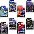 Hot Wheels Batman: Random set of 4 Diecast Cars