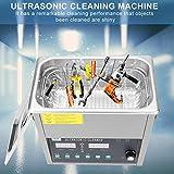 Professionell Ultraschallreiniger Ultraschallgerät Ultraschall Reinigungsgerät für Kassette, Rasierer, Schmuck, Brille 3L