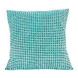 Hunpta Drucken Sie Schlafsofa Hauptdekoration Festival Pillow Case Kissen Cover (Mint Green)