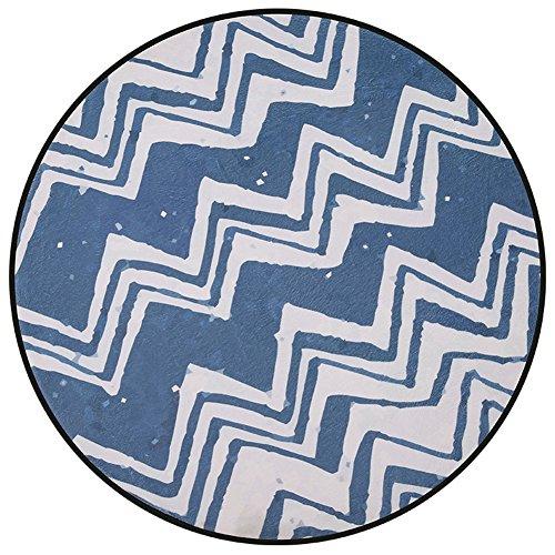 LYYDITAN zhdc Fußmatten, einfach, runder Teppich Schlafzimmer-Türen, Nachttisch, Durchmesser: 80cm-120cm, weich und bequem, 1, 80 cm