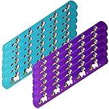 12 piezas te-trend unicornio unicornio Slap Band Pulsera 22cm turquesa Púrpura SURTIDOS