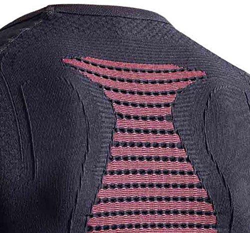 X-Bionic Erwachsene Funktionsbekleidung Man Energizer MK2 UW Shirt LG SL Negro / Rojo