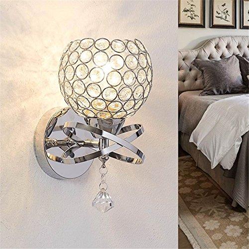 lámpara de pared,Lámpara de pared de cristal lámpara de mesilla de atenuación...