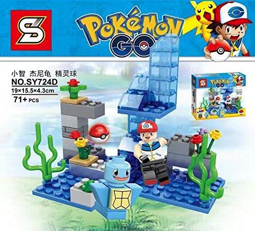 Pokemon Baustein-Set SY724D (Pokemon Legos)