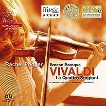 Vivaldi : Les Quatre Saisons. Podger, Brecon Baroque.