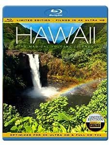 HAWAII 4K - The Magical Volcano Islands (Limited Edition - Filmed in 4K ULTRA HD) [Blu-ray]