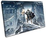 Bold Bloc Design - Destiny Rise of Iron XBOX ONE PS4 Gaming 60x40cm SINGLE Leinwand Kunstdruck Box gerahmte Bild Wand hangen - handgefertigt In Grossbritannien - gerahmt und bereit zum Aufhangen - Canvas Art Print