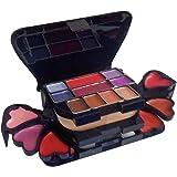 ADS Color Series Makeup Kit (8 Eyeshadow, 1 Power Cake, 8 Lip Color, 2 Blusher)