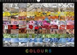 Colours (UK-Version) (Wall Calendar 2019 DIN A3 Landscape): A colourful photo collection with impressions from around the world. Every month with its ... calendar, 14 pages (Calvendo Places)