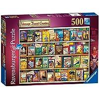 Ravensburger Vintage Travel Guides 500pc Jigsaw Puzzle