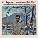 Art Pepper: Unreleased Art, Vol. 1