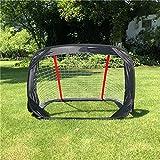 QINAIDI Kid Soccer Gate, Rete Di Gioco Net Net Obiettivo Di Rete 120 * 80 * 80Cm, Scatola Di Calcio Di Gioventù Sport All'aria Aperta,1PCS