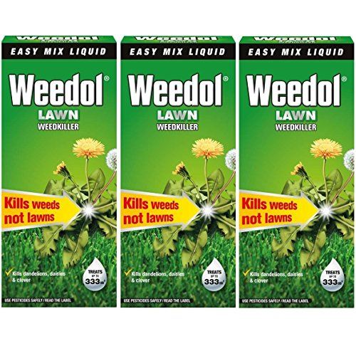 3-x-weedol-verdone-extra-lawn-weedkiller-kills-weeds-500ml-treats-333m2-garden-new-total-15l-15-litr