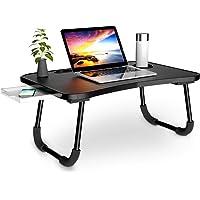 Daover Table Pour Ordinateur Portable,Bureau Table de Lit, Support Pour Ordinateur Oortable Avec Pattes de Canapé…