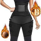 BEFANS - Regolatore per coscia a vita alta, 3 in 1, per la vita e la coscia, da donna, per migliorare l'anca, invisibile, per