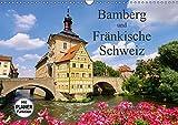 Bamberg und Fränkische Schweiz (Wandkalender 2019 DIN A3 quer): Erleben Sie die historische Altstadt von Bamberg und Reiseziele in der nahen ... 14 Seiten ) (CALVENDO Orte) - LianeM