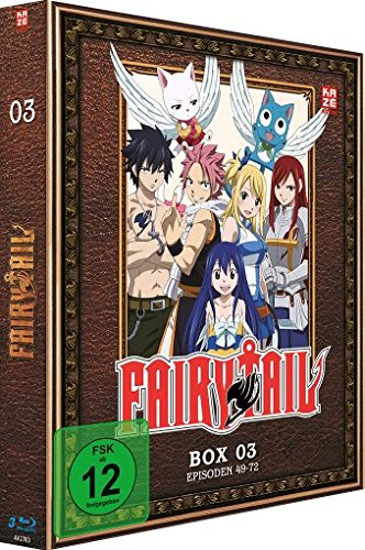 Fairy Tail - TV-Serie - Box 3  (Episoden 49-72) [Blu-ray] -