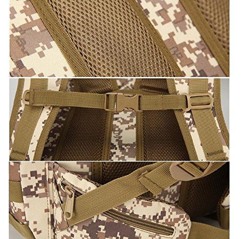 Z&N Outdoor 70L Großraumrucksack taktisches Paket Rucksack Tarn im Freien wasserdicht und langlebig Bergsteigen Tasche Anti-Riss Multifunktions- High-End-Rucksack C