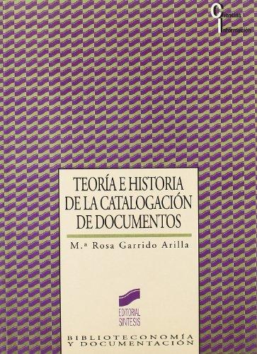 Teoría e historia de la catalogación de documentos (Ciencias de la información)
