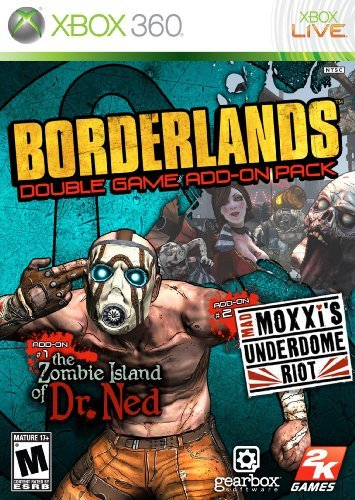 Borderlands Double Game Add-On Pack: The Zombie Island of Dr. Ned / Mad Moxxi's Underdome Riot by 2K