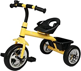 R for Rabbit Tiny Toes - The Smart Plug and Play Baby Tricycle for Kids/Baby (Yellow)