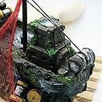 Dimart Simulation Lifelike Artificial Resin Dead Tree Trunk Landscaping Aquarium Ornaments for Fish Tank Grey 14