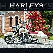 Harleys 2016 - Broschürenkalender (30 x 60 geöffnet) - Motorradkalender - Fahrzeuge - Wandplaner