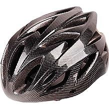 Mens/señoras adultos Besporter ciclismo bicicleta casco de ciclismo–disponible en 4colores, color negro, tamaño talla única