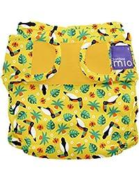 Bambino Mio Miosoft Nappy Cover, Size 2, 9 kg Plus, Tropical Toucan