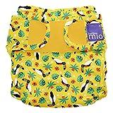 Bambino Mio, miosoft windelüberhose, tropischer tukan, Größe 2 (9kg+)