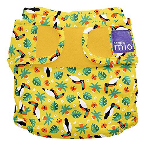 Bambino Mio, miosoft culotte de protection, toucan tropical, taille 1 (