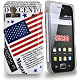 Accessory Master - Coque hybrid Drapeau Americain pour Samsung galaxy Ace S5830