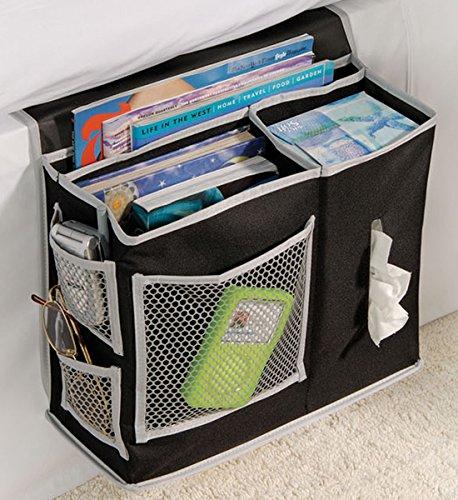 Remote Storage (6 Pocket Bedside Storage Mattress Book Remote Caddy by Richards Homewares)