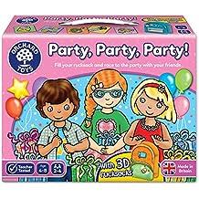 """Orchard Toys - Gioco da tavolo """"Party, Party, Party!"""", 2-4 giocatori, 4-8 anni [lingua inglese]"""