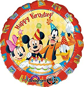 Amscan - Globos Mickey Mouse (Amscan International 922301)